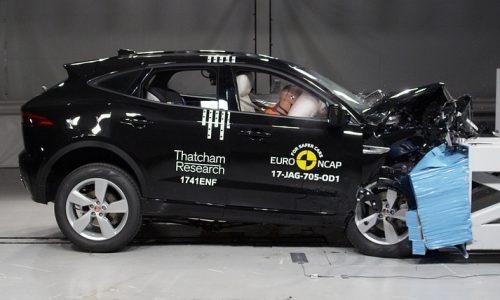 Jaguar E-Pace scores 5-star ANCAP safety rating (video)
