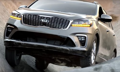 Video: Kia shows off Sorento's off-road potential at Hell's Gate