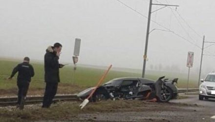 Koenigsegg Agera RS involved in big crash in Switzerland