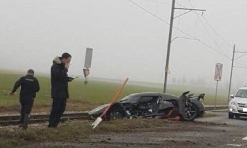 Koenigsegg Agera RS involved in big crash in Switzerland