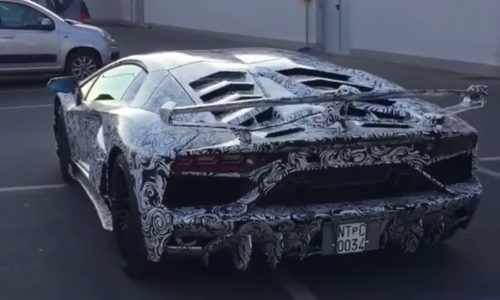 Lamborghini Aventador 'Jota' spotted with extreme aero kit (video)