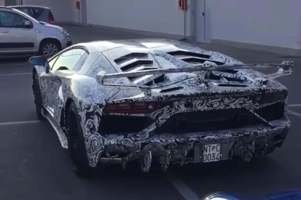 Lamborghini Aventador 'Jota' spotted with extreme aero kit (video) | PerformanceDrive