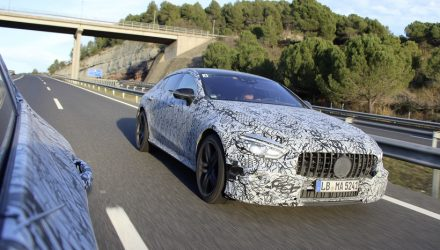 Mercedes-AMG GT 4-door previewed, Geneva debut confirmed