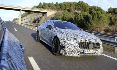 Mercedes-AMG GT 4-door previewed, Geneva debut confirmed