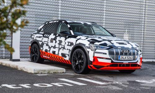 Audi e-tron quattro prototype previews Ingolstadt's electric SUV