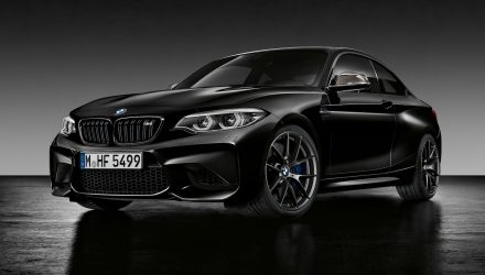 BMW M2 Black Shadow edition celebrates 2017 sales success