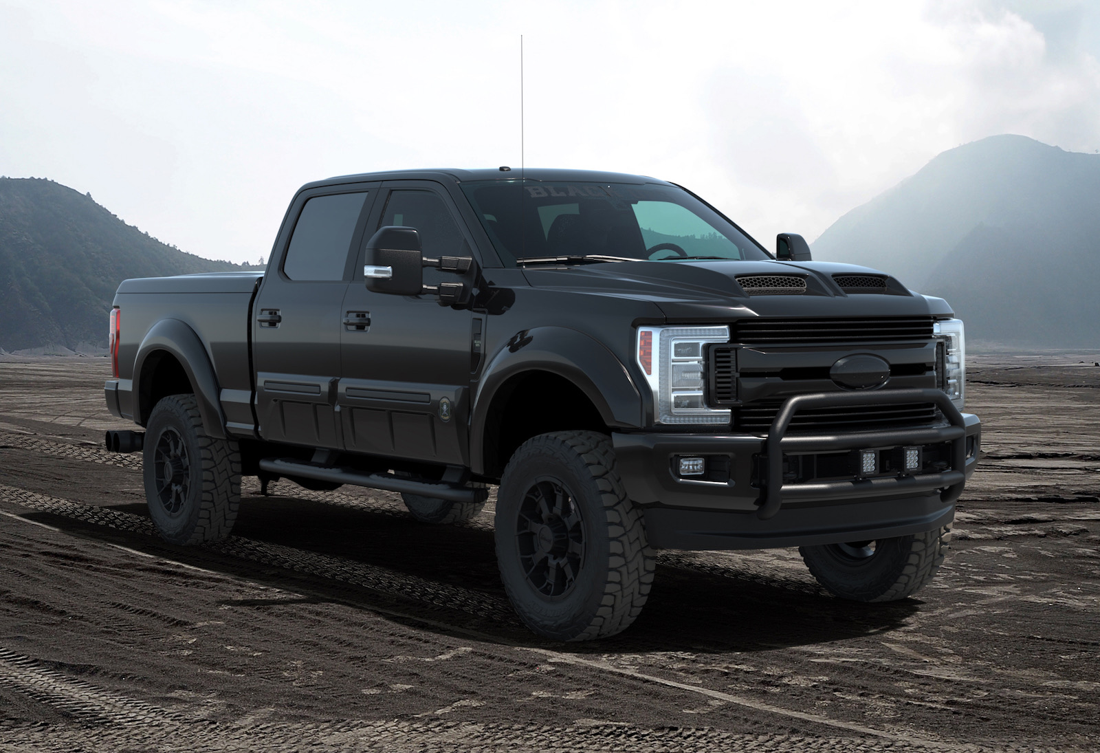 2018 ford f 250 tuscany black ops