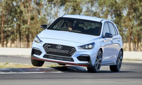 Hyundai i30 N warranty covers track use, on sale in April