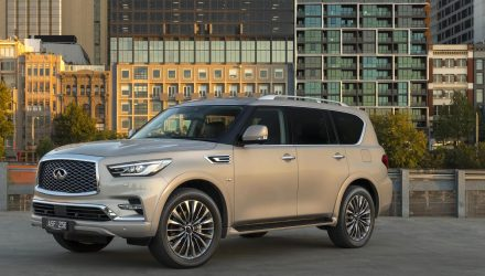 2018 Infiniti QX80 now on sale in Australia from $110,900