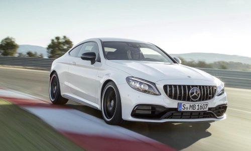 2018 Mercedes-AMG C 63 update unveiled, gets 9-speed auto