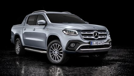 Mercedes-Benz X 350 d unveiled, most powerful diesel in class