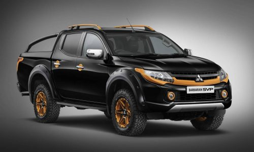 Mitsubishi Special Vehicle Projects develops tough Triton