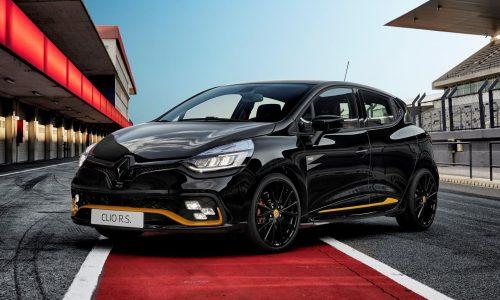 Renault Clio R.S.18 special edition announced for Australia