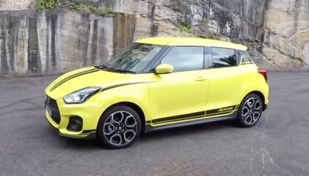 2018 Suzuki Swift Sport POV review – first impressions (video)