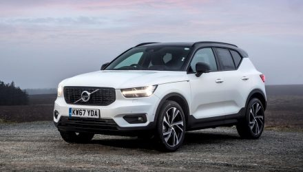 Volvo XC40 on sale in Australia in April, from $47,990