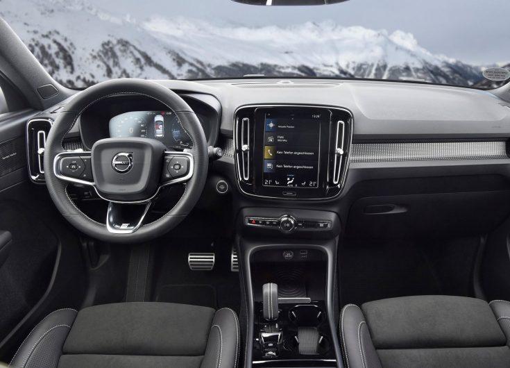 2018 Volvo XC40-interior