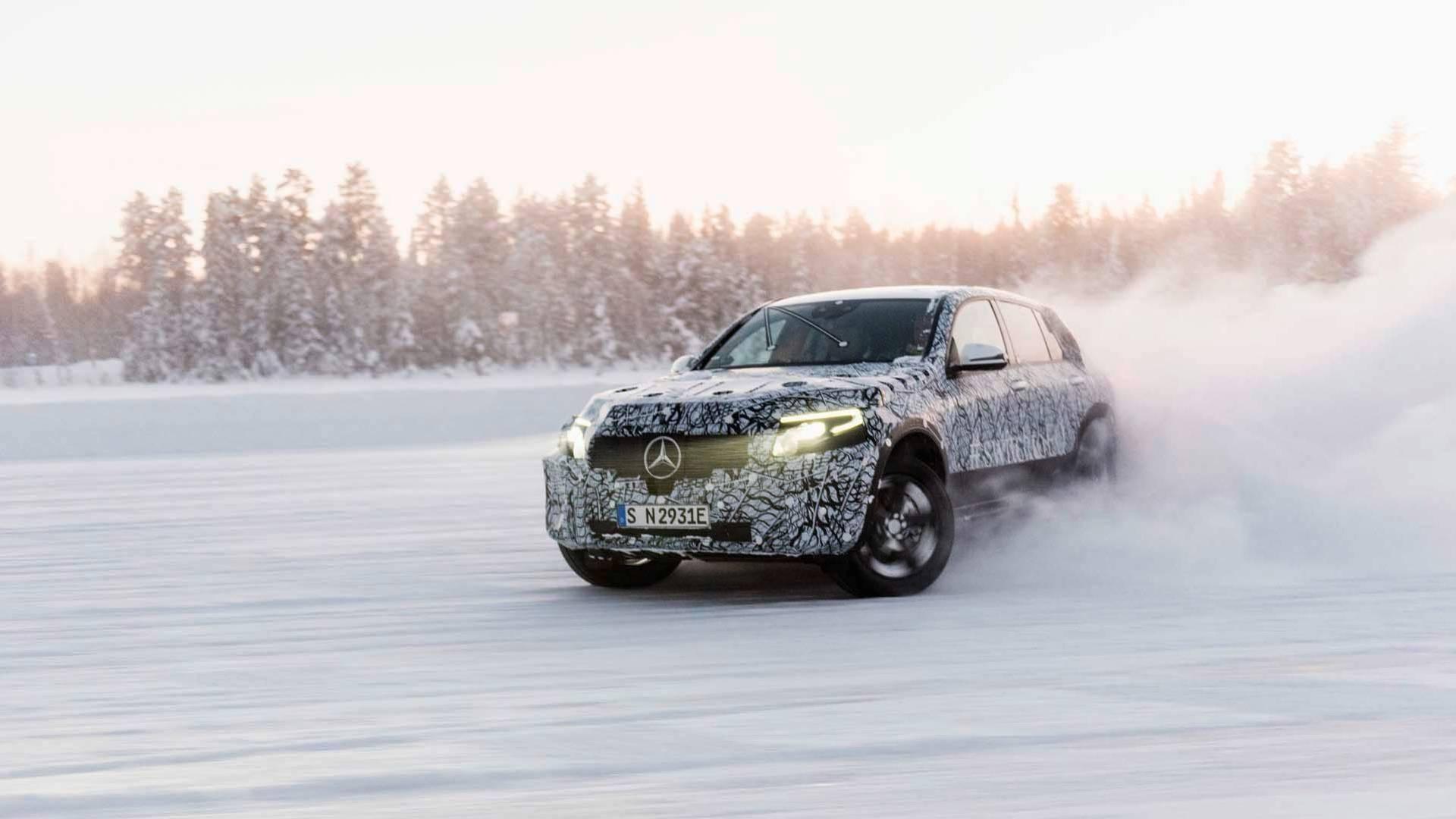 2019 Mercedes Benz Eqc Electric Suv Prototype Completes