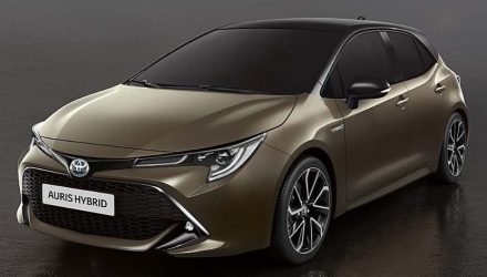 2019 Toyota Corolla leaks out, reveals fresh design