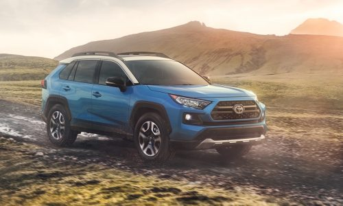 2019 Toyota RAV4 gets tough new look, debuts at New York show