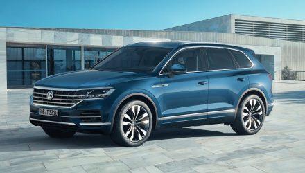 2019 Volkswagen Touareg unveiled, gets 310kW V8 diesel