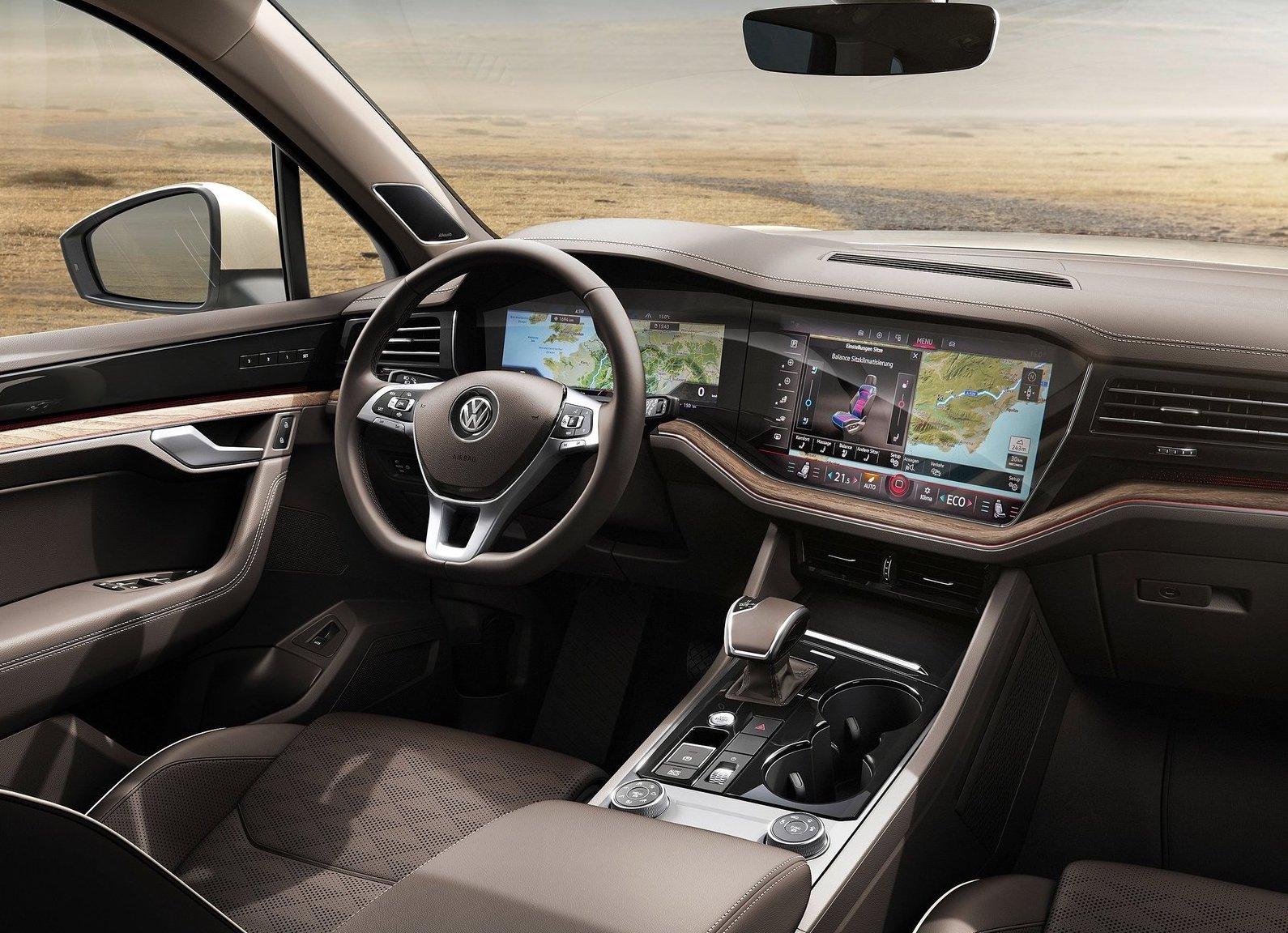 2019 Volkswagen Touareg unveiled, gets 310kW V8 diesel | PerformanceDrive