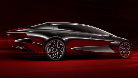 Lagonda Vision concept swoops into Geneva from the future