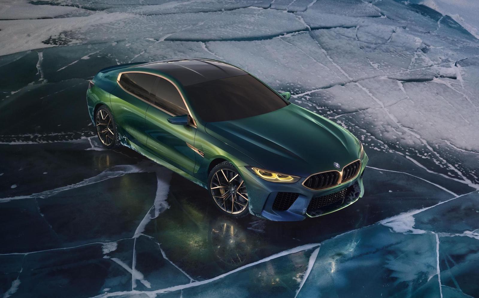 BMW M8 Gran Coupe concept revealed, production version ...