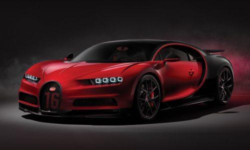 2018 Bugatti Chiron Sport unveiled; less weight, better handling