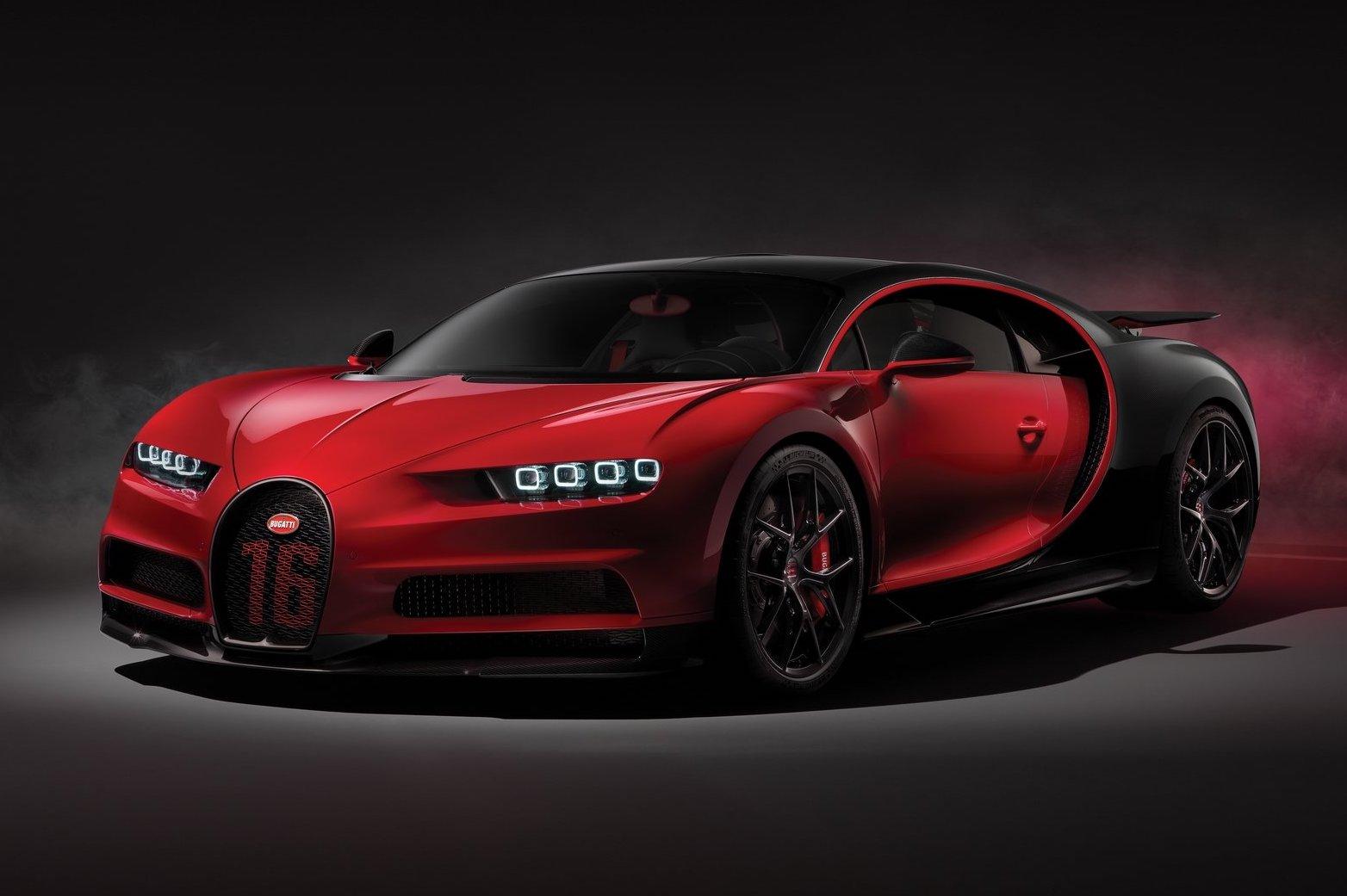 New Lamborghini 2018 >> 2018 Bugatti Chiron Sport unveiled; less weight, better ...