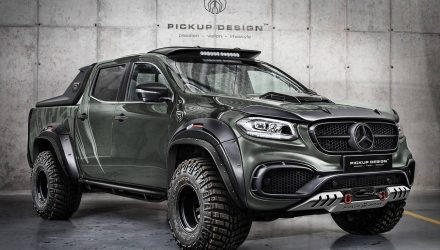 Carlex Design develops fat bodykit for Mercedes X-Class