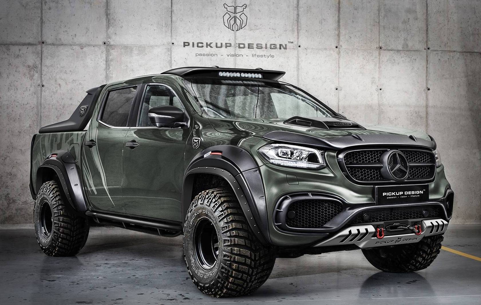 Nissan March Tuning >> Carlex Design develops fat bodykit for Mercedes X-Class | PerformanceDrive
