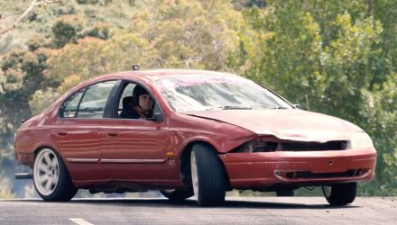 Video: Ford AU Falcons show off drifting potential