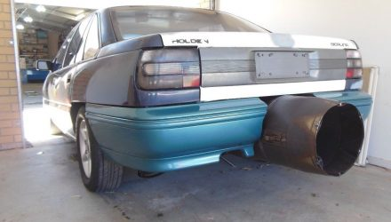 For Sale: Holden VN Commodore powered by Rolls-Royce jet engine