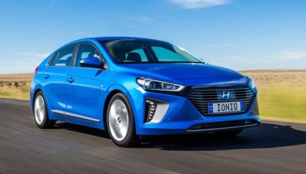 Australia getting all 3 versions of Hyundai IONIQ, fleet testing begins