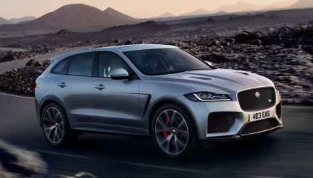 Jaguar F-PACE SVR revealed with potent supercharged V8