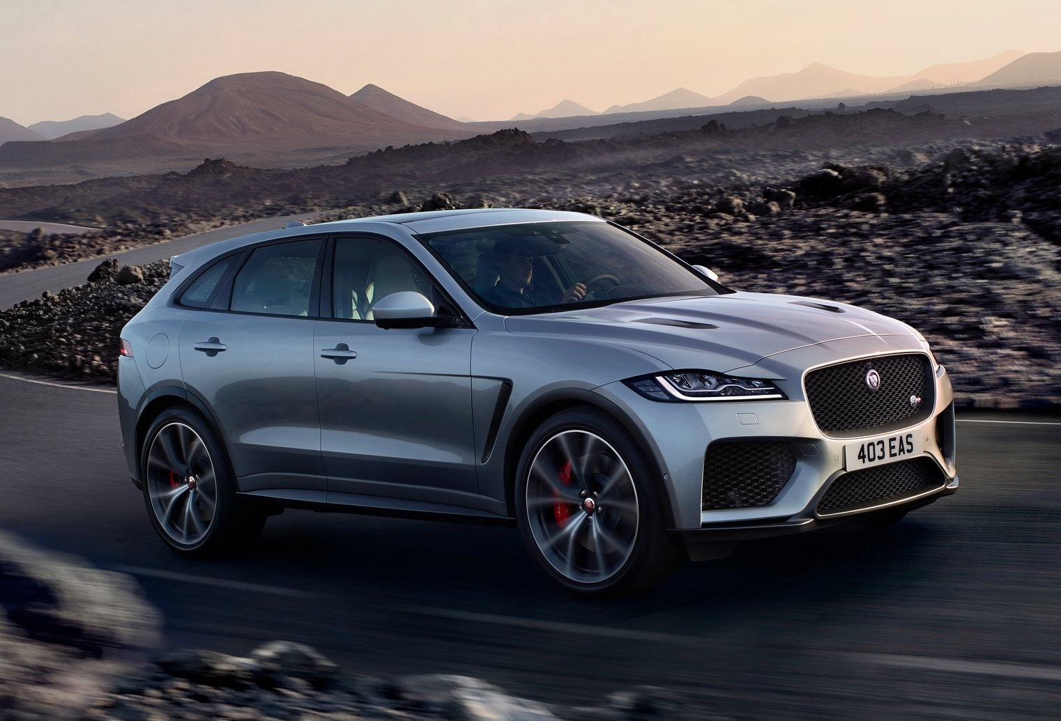 jaguar f pace svr revealed with potent supercharged v8. Black Bedroom Furniture Sets. Home Design Ideas
