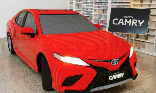 Full-size LEGO Toyota Camry now on display in Melbourne