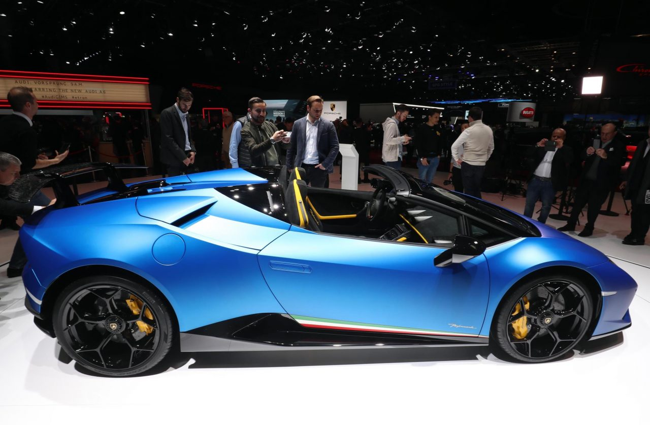 Lamborghini Huracan Performante Spyder unveiled ...
