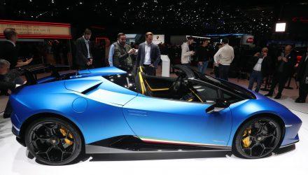 Lamborghini Huracan Performante Spyder unveiled