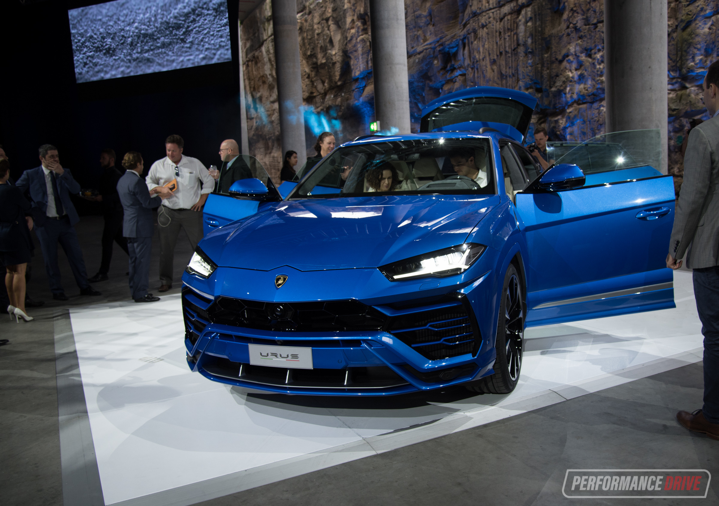 Lamborghini Urus Makes Australian Debut In Sydney