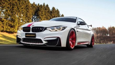 Manhart develops potent MH4 550 kit for BMW M4