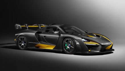 MSO does McLaren Senna 'Carbon Theme' for Geneva show