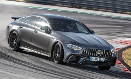 2019 Mercedes-AMG GT 4-Door Coupe says hello at Geneva
