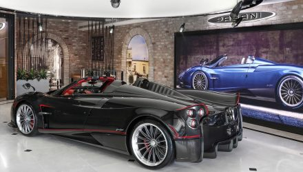 Horacio Pagani helps open first Pagani dealership in Australia