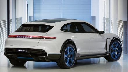 Porsche Mission E Cross Turismo concept previews EV crossover