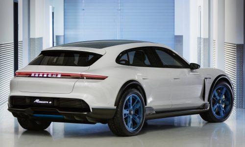 Porsche Mission E Cross Turismo concept previews EV crossover