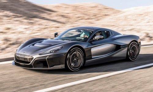 Rimac C_Two goes official; 1408kW, 1/4 mile in 9.1 seconds