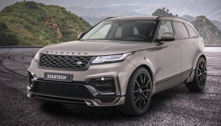 Startech develops wide-body kit for Range Rover Velar