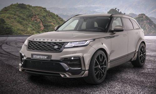 Startech develops wide-body kit for Range Rover Velar