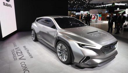 Subaru VIZIV Tourer concept wows crowds at Geneva show